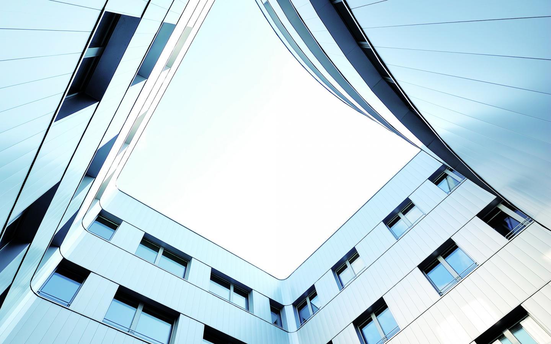 Hôpital privé de l'estuaire, construction neuve au Havre réalisée avec des menuiseries K-LINE.