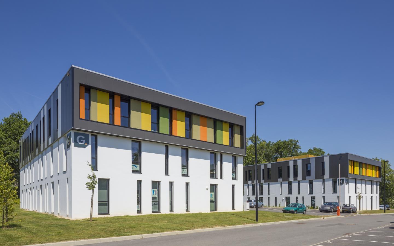 Bois Cesbron, construction neuve à Nantes réalisée avec des menuiseries alu K-LINE.