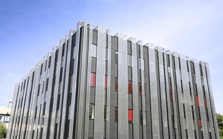 Bureaux Nexton, construction neuve à Montigny réalisée avec des menuiseries alu K-LINE.