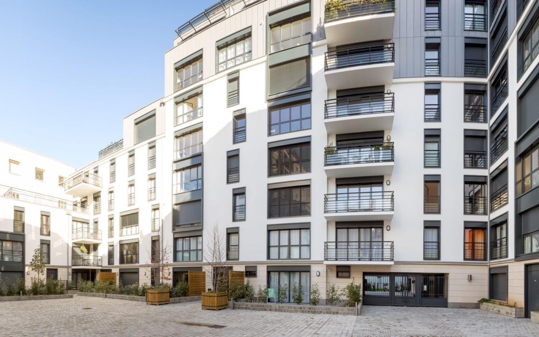 Cours Saint-Louis, construction neuve à Paris réalisée avec des menuiseries alu K-LINE.