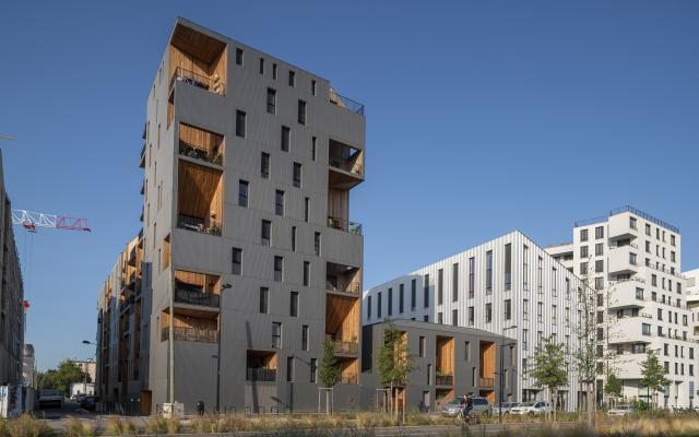 Concert'o, construction neuve à Bordeaux réalisée avec des menuiseries K-LINE.
