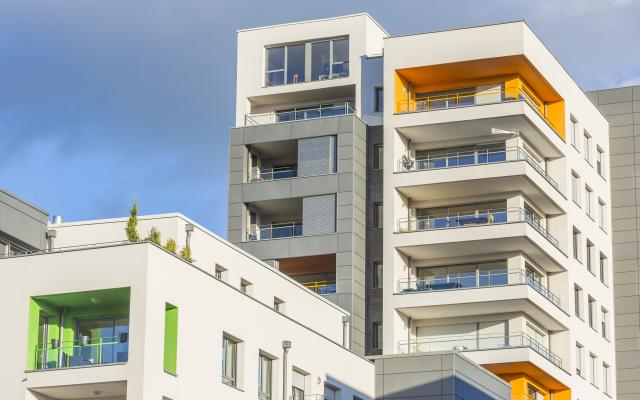 Les Panoramiques, construction neuve à Metz réalisée avec des menuiseries K-LINE.