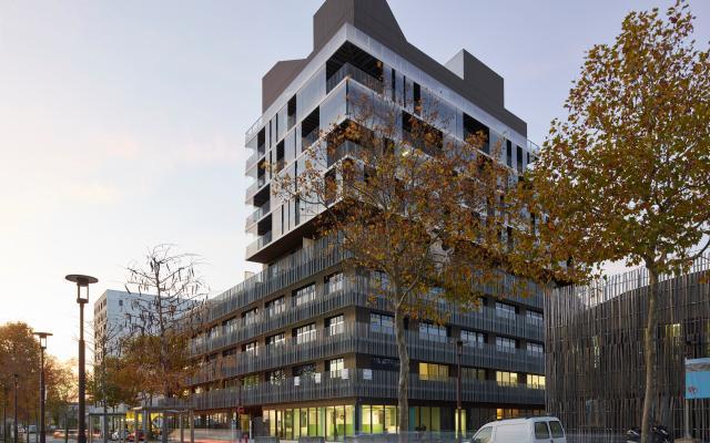 Imbrika, construction neuve réalisée à Nantes avec des menuiseries alu K-LINE.