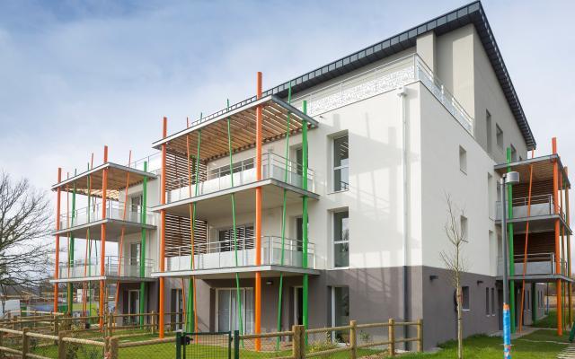 I Prestige, construction neuve à La Roche-sur-Yon réalisée avec des menuiseries alu K-LINE.