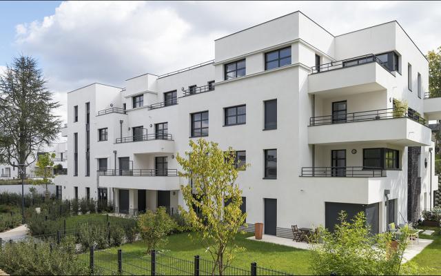Jadis & Demain, construction neuve à Rueil Malmaison réalisée avec des menuiseries alu K-LINE.