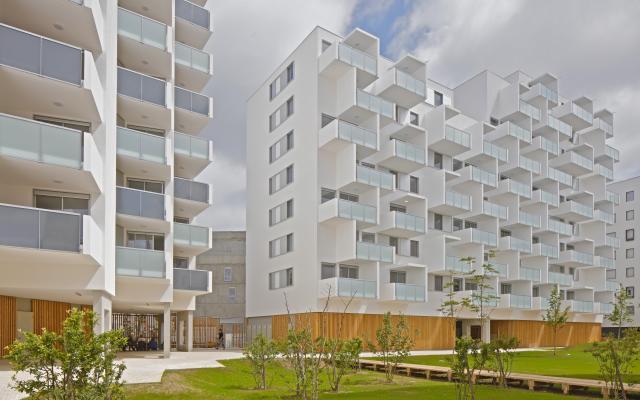 Cartoucherie, construction neuve à Toulouse réalisée avec des menuiseries alu K-LINE.