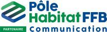 Logos Pôle Habitat FFB communication partenaires